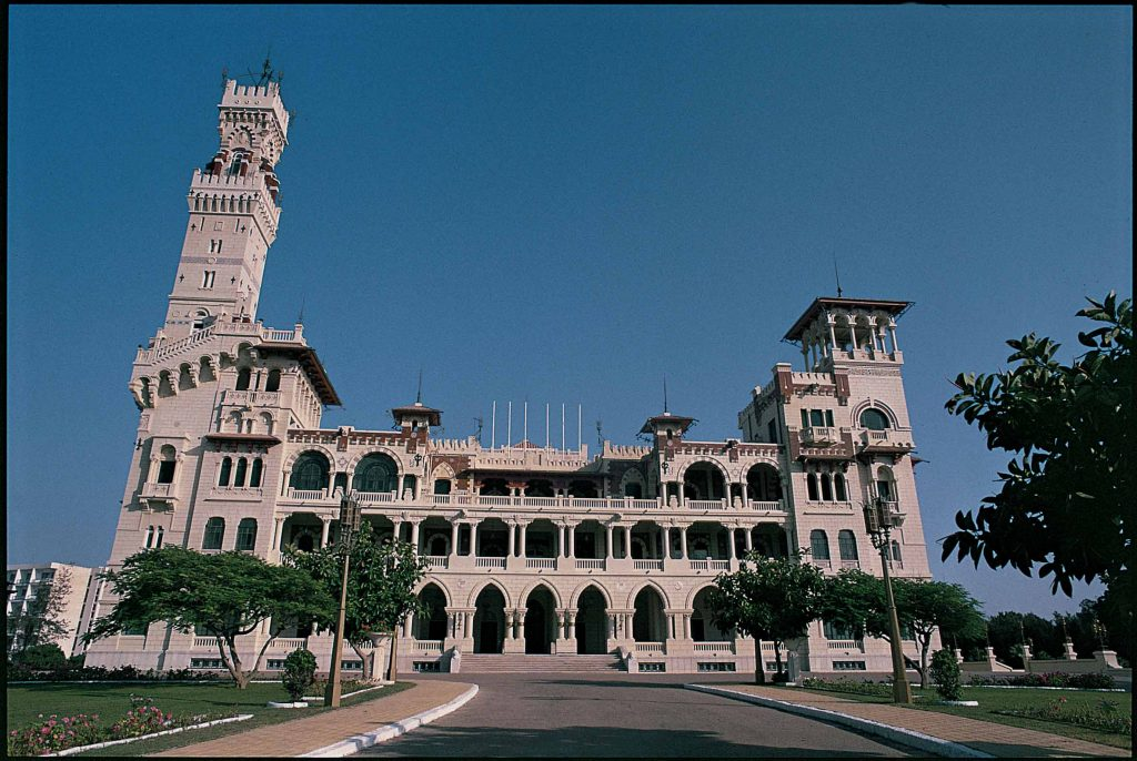 """Montazah Palace & Gardens in Alexandria. Originally built in 1892, the present palace dates from 1926 and was the summer home for the Egyptian royal family until King Farouk's exile in 1952. "". Photo by: Mohamed El-Dakhakhni."
