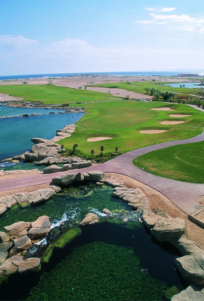 Red Sea golf course