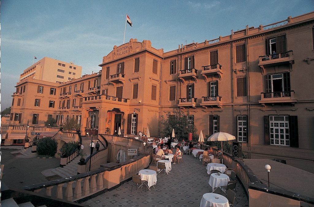 """The Old Winter Palace Hotel is a beautiful and impressive building facing the Nile River in Luxor."": Photo by: Mohamed El-Dakhakhni."